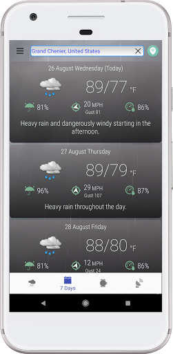 Hyperlocal Weather (Dark Sky Powered by) & Radar screenshots 4