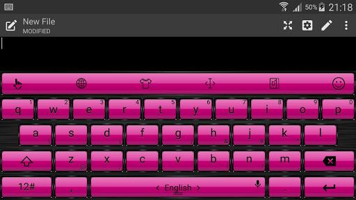 Keyboard Theme Frame PinkPurpl For PC Windows (7, 8, 10, 10X) & Mac Computer Image Number- 10
