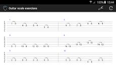 Guitar scale exercisesのおすすめ画像1