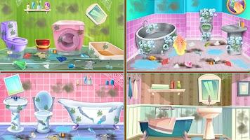 Washroom Cleanup 3D House Bath