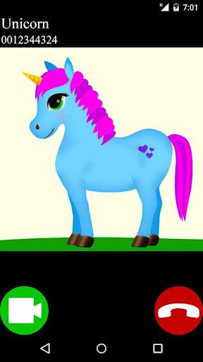 unicorn fake video call game screenshots 2