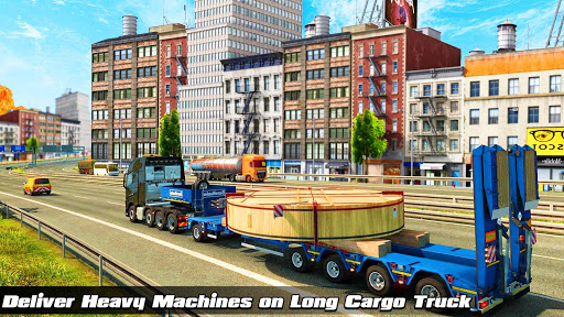 Speedy Truck Driver Simulator: Off Road Transport screenshots 4