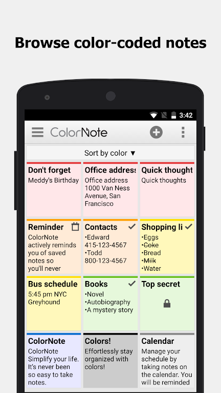 ColorNote Notepad Notes  poster 6