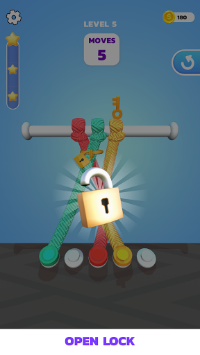Code Triche Tangle Master 3D - Le maître de l'enchevêtrement APK MOD (Astuce) screenshots 4