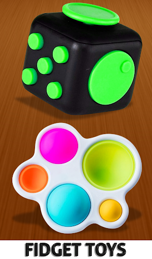 Fidget Cube 3D Antistress Toys - Calming Game 1.0 screenshots 9