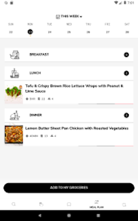 SideChef: Recipes, Meal Planner, Grocery Shopping Screenshot