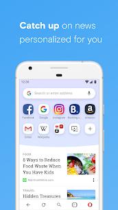 Opera browser with free VPN MOD (Premium) 2