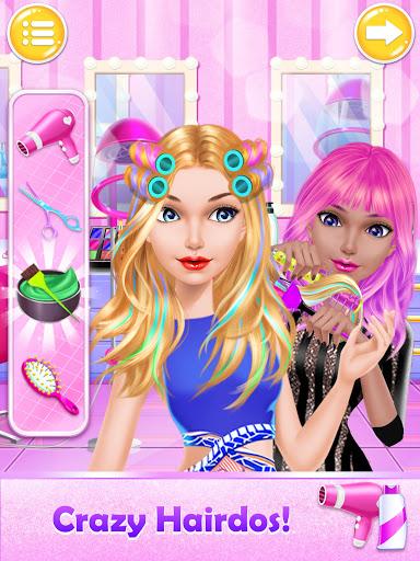 Makeover Games: Makeup Salon Games for Girls Kids apkpoly screenshots 2