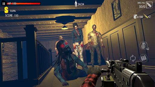 Zombie Hunter D-Day  screenshots 7