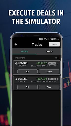 Forex Tutorials - Forex Trading Simulator  Screenshots 5