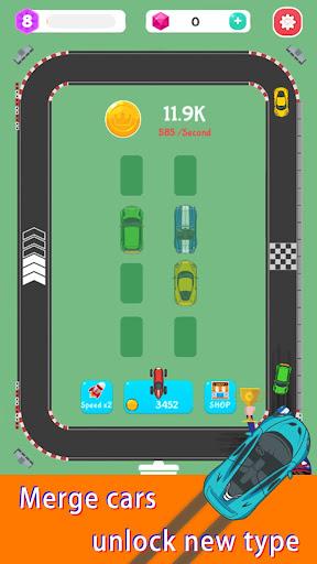 Merge Rally Car - idle racing game  screenshots 8