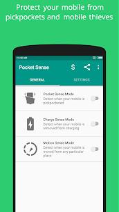 Pocket Sense – Anti-Theft & Don't touch alarm 1
