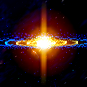 3D Stars Journey - Universe Music Visualizer
