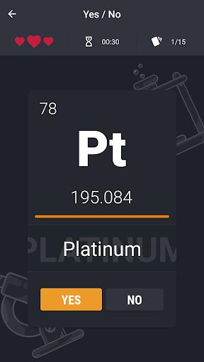 Periodic Table - Game 0.3.1 screenshots 6