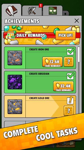 Minetap: Epic Clicker! Tap Crafting & mine heroes 1.5.5 screenshots 5