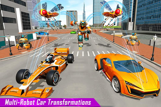 Mosquito Robot Car Game - Transforming Robot Games 1.0.8 screenshots 4