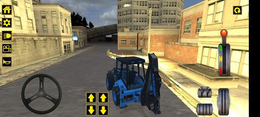Excavator Jcb City Mission Simulator android2mod screenshots 3