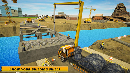 City Bridge Builder: Flyover Construction Game  screenshots 1