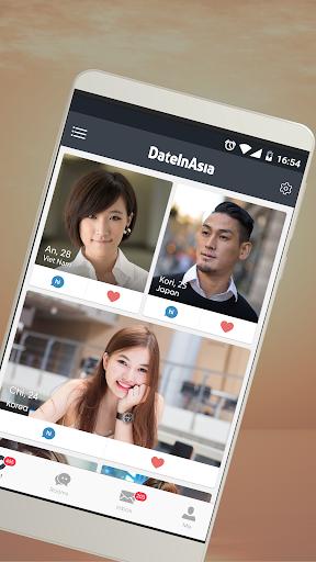Date in Asia - Dating, Chat, Meet Asian Singles  Screenshots 1