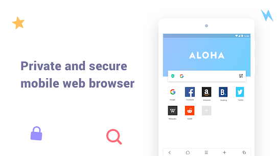 Aloha Browser Lite – Private browser and free VPN 5