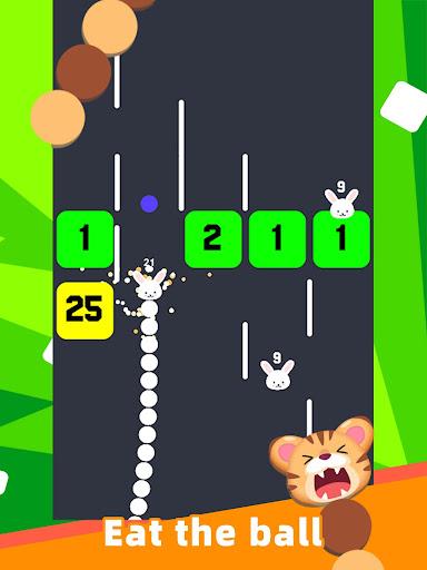 Slide And Crush - redesign snake game apktram screenshots 8