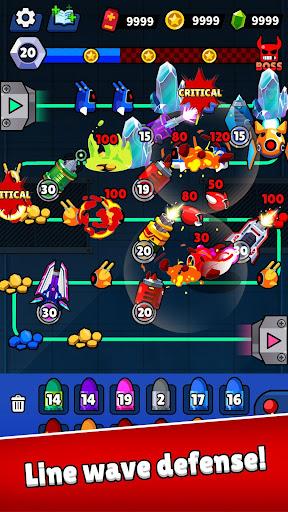 Merge Guns!: Line Defense  screenshots 1