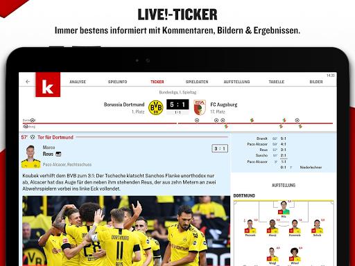 kicker Fußball News  screenshots 10