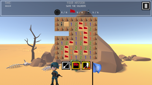 Trooper Sam - A Minesweeper Adventure apkpoly screenshots 9