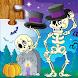 子供のためのジグソーパズルハロウィンゲーム - Androidアプリ