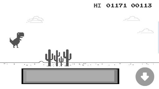 jumping dinosaur screenshot 2