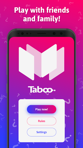 mTaboo - tabu, forbidden words party game! apkpoly screenshots 1