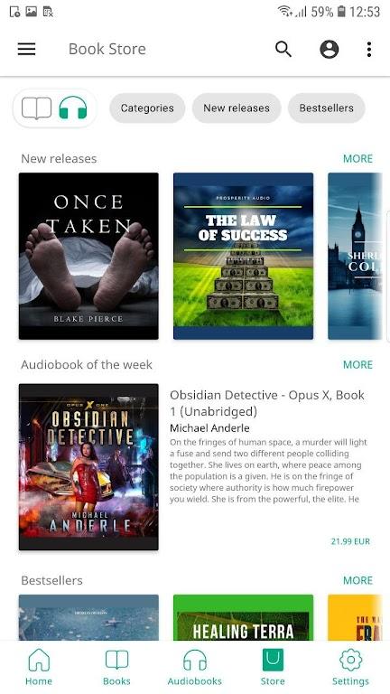 PocketBook reader free reading epub, pdf, cbr, fb2 poster 6