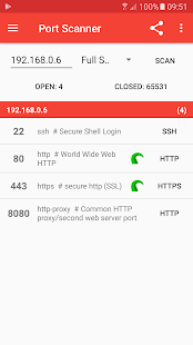 PortDroid - Network Analysis Kit & Port Scanner 0.4.14 APK + Мод (разблокирована) за Android