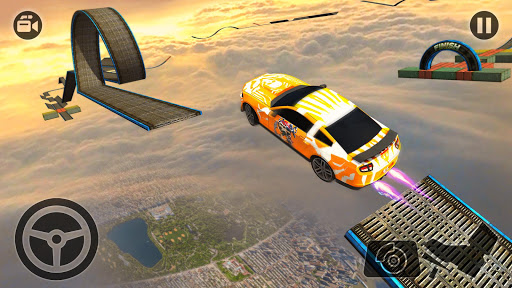 Impossible Stunt Car Tracks 3D screenshots 11