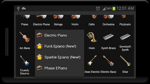 Strings and Piano Keyboard android2mod screenshots 9