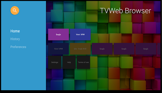 TVWeb Browser for TV 1.5.7