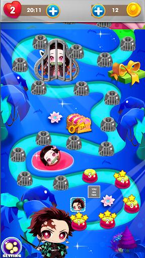 Nezuko Tanjiro Rescue Bubble Shooter 1.9 screenshots 4