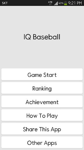 IQ Baseball - Number Puzzle 2.3.0 screenshots 1