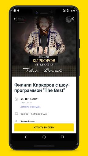 iticket.uz - online ticket sales screenshot 2