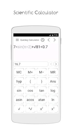 Quickey Calculator - Free app modavailable screenshots 5