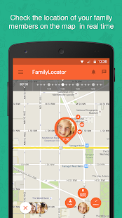 Zoemob Family Locator Screenshot