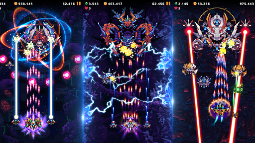 Falcon Squad: Galaxy Attack - Free shooting games Apkfinish screenshots 15