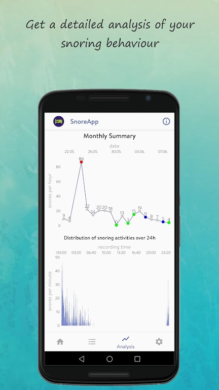SnoreApp: snoring & snore analysis & detection  poster 2