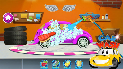 Car wash games - Washing a Car 5.1 screenshots 1