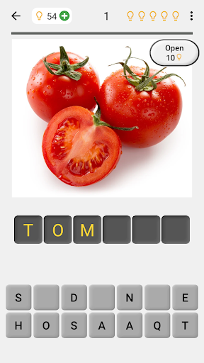 Fruit and Vegetables, Nuts & Berries: Picture-Quiz  screenshots 1