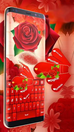 Red Rose Keyboard 2021  screenshots 5