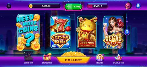 Crazino Slots: Vegas Casino  screenshots 1