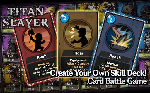 Titan Slayer: Roguelike Strategy Card Game apktram screenshots 7