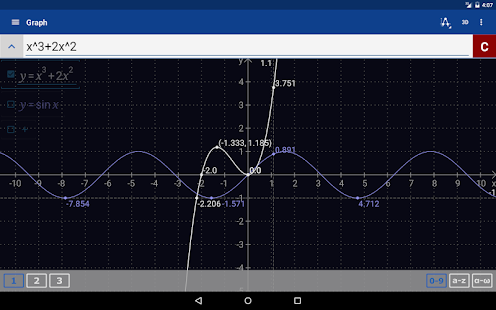 Graphing Calculator + Math, Algebra & Calculus Screenshot