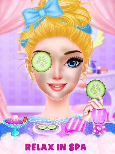 Pink Princess Makeover & Dress Up : MakeUp Salon 2.0 screenshots 4